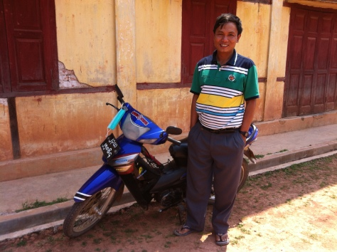 Pastor Aung received this motorbike to aide his efforts evangelizing in Myanmar through BGNi initiatives.